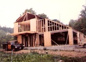 photo of house framed
