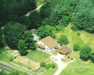 aerial photo of the house